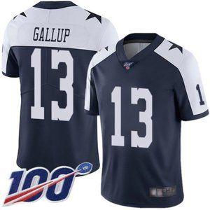 Dallas Cowboys Michael Gallup 100th Season Jersey3